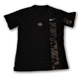 Dallas Cowboys Nike Camo Dri Fit T Shirt New